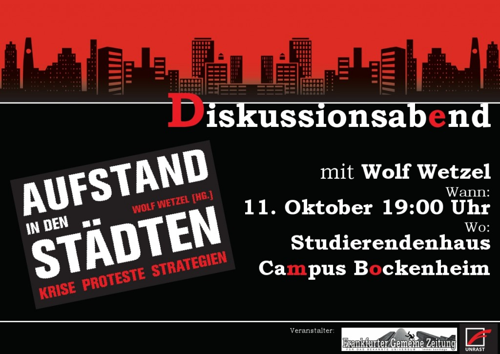 Plakat front wolf 2012